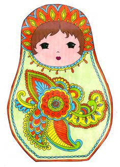 Matryoshka art