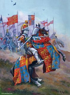 Cavalieri inglesi, XIV secolo