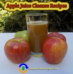 A page dedicated to apple juice cleanse recipes! Home made apple juice contains many health benefits including anti-aging, protect against parkinson's disease, heart health, anti-cancer, preventing gallstones, lower cholesterol, and boosting your immunity! Enjoy all of the recipes! :)