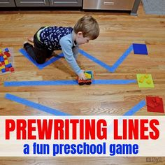 Prewriting Activities for Preschoolers — Days With Grey- Prewriting Activities for Preschoolers — Days With Grey Ready to get your child moving? Try this prewriting activity. Preschool Writing, Preschool Learning Activities, Alphabet Activities, Toddler Learning, Writing Activities, Toddler Activities, Movement Preschool, Free Preschool, Summer Activities
