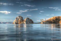 Bajkal lake. Shaman rock.