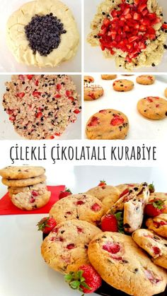 Cookie Packaging, Turkish Recipes, Food Design, Tart, Challah, Bagels, Deserts, Dessert Recipes, Food And Drink