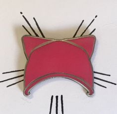 Pink Pussy Hat enamel pin - Womens March - LGBT - Lesbian & Gay Enamel Pin Pride Feminist Anti Trump knit hat A Day Without Women by ButchandSissy on Etsy https://www.etsy.com/listing/501449074/pink-pussy-hat-enamel-pin-womens-march