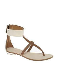 I love the metal ankle strap!
