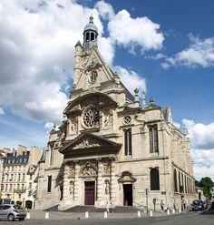 Saint Étienne du Mont, Paris