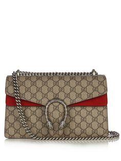 Dionysus GG Supreme medium shoulder bag | Gucci | MATCHESFASHION.COM