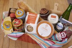 General Store | Paso Robles Hamper idea | Tons of great locally-made goodies
