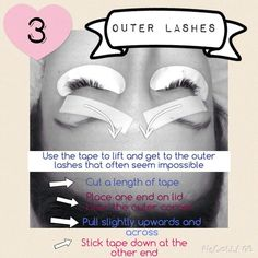 Lashes - How to get the outer lashes