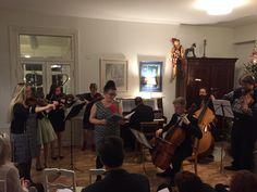 Ensimmäinen kotikonserttimme 2015