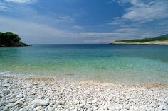 Vis island-beach
