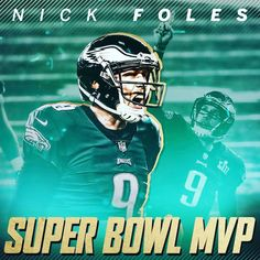 0a0c1c6a9ea Former Michigan State and University of Arizona QB Nick Foles is your Super  Bowl LII MVP