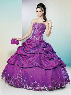 Purple Quinceanera Dresses - Pictures of Purple and White Quinceanera Dresses - Mis Quince Mag