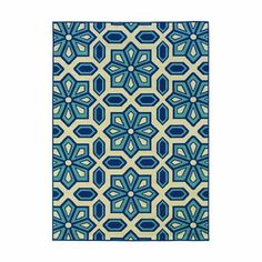 Hah. This got pinned!! I own this rug. We have it indoors.. soft enough and very stain resistant. Great for a house with pets!!!