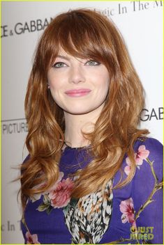 Love her hair | Emma Stone Makes Her Movie Premiere a Big 'Amazing Spider-Man 2' Reunion!