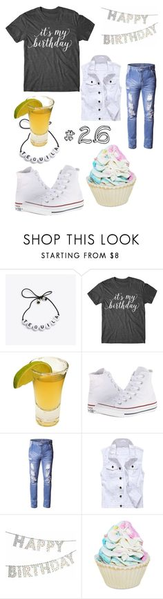 """""""Big 26 birthday outfit for him!"""" by eloy-exclisively on Polyvore featuring Bellastellas, Bormioli Rocco, Converse, Forever 21, men's fashion and menswear"""
