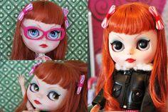 Bella Taboo : Custom Blythe OOAK Doll by SutureArt on Etsy