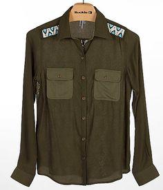 """BKE Pieced Shirt"" www.buckle.com"