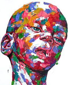 "Saatchi Art Artist KwangHo Shin; Painting, ""[14P07] untitled oil on canvas 162.2 x 130.3 cm 2014"" #art"