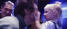 Gif: lux: the one girl in the world to reject a kiss from Harry styles` e