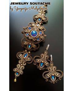 Soutache Bracelet, Swarovski Bracelet, Soutache Jewelry, Swarovski Crystals, Crystal Jewelry, Wire Jewelry, Wedding Jewelry, Jewelry Bracelets, Silver Jewelry