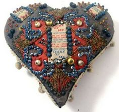 tokens to loved ones made and given in World War I, to remind those distant that they are never out of one's heart.