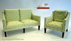 Regent Miniatures Classic Sofa Regent Miniatures Your world, smaller scale.  1:4, 1:6, 1:12 & 1:24 furniture | accessories | 1:6 and 1:12 Dioramas