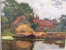 Ben Viegers (1886-1947)  plasgezicht