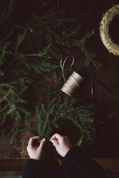 Winter wreaths by Babes in Boyland