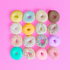 donuts - #candyminimal by matt crump