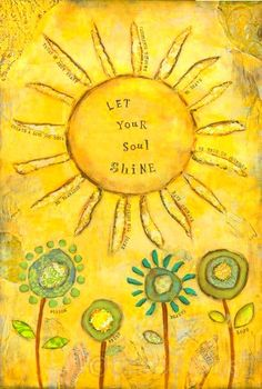 ✿⊱╮let your soul shine ❤️ repinned by http://Abundance4Me.com