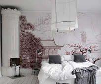 Fotomural Japón  - inspiración , galería de interiores • PIXERS.es
