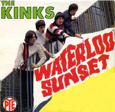 Waterloo sunset + holiday in waikiki + 2 by The Kinks, EP with londonbus 60s Music, Music Love, Music Is Life, Rock And Roll, Waterloo Sunset, The Ventures, The Kinks, Pochette Album, British Invasion