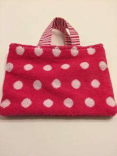 Hot Pink Polka Dots - Toddler Tote, $15.00