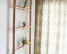 Copper Hanging Planter | Great idea!