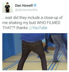 Don't worry Dan, it was much appreciated by the viewers.