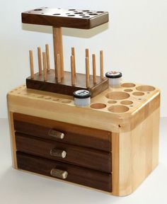 Fly Tying Tool Caddy Portable Tool Caddy by AntlerCrestColorado, $200.00