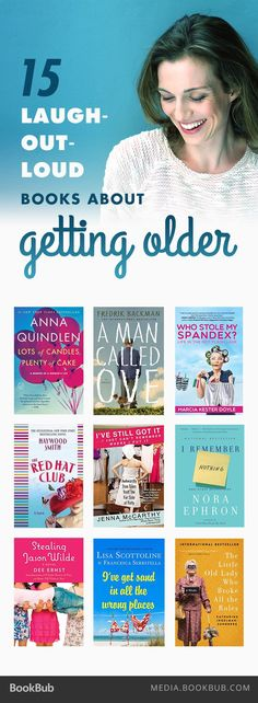 15 laugh-out-loud books about getting older. http://shop.multiplyprosperity.com/anti-ageing/