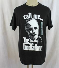 BRAND NEW NWT The Godfather Call me... American Classics Medium T Shirt Mens Tee #AmericanClassics #GraphicTee