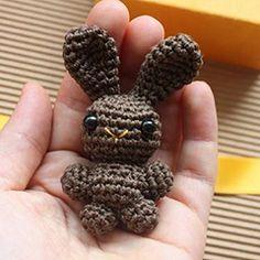 Tiny Bunny amigurumi crochet pattern by Happyamigurumi
