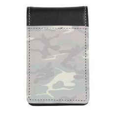 Camo Small Leather Notepad> Lisa Williams Art