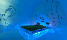 Bundle up for a night in North America's only ice hotel, Hôtel de Glace!