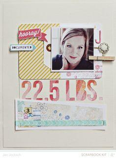 Jen Jockish ~ Great idea for a scrapbook!