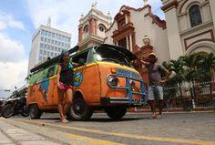 Se enamoran de San Pedro al cruzar América en una combi - Diario La Prensa