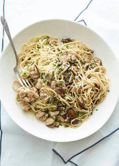 Lemon Chicken Pasta from www.whatsgabycooking.com (@whatsgabycookin)