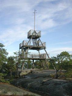 Borgbergin näköalatorni, Houtskari Archipelago, Ceiling Lights, Sea, Lighting, Building, Travel, Home Decor, Viajes, Light Fixtures
