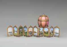 Danish Palaces Egg - House of Fabergé made by mikhail Evlampievich 1890