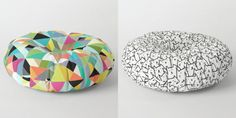 Society6 Launches New Floor Pillows For Your Home