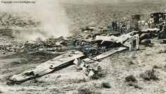 Mid-air collision: United Airlines Flight 736 & USAF F-100 (1958). Collided over Arden, Nevada. Deaths 49 (all).