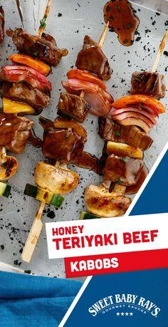 Kabob Recipes, Steak Recipes, Cooker Recipes, Recipies, Shish Kabobs, Beef Kabobs, Kebabs, Diner Recipes, Brunch Recipes