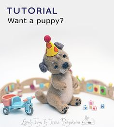 Video Needle felting tutorial, Gift for her, How to needle felt, Felting pattern, Soft sculpture, Felting instructions, Felted animals, Felt animals, Step by step